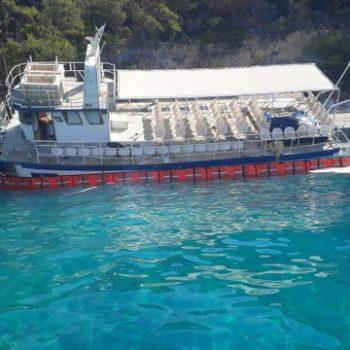 Göçmenlerin Kaçmak İstediği Tekneden Yakıt Sızıntısı Başladı1_640x360