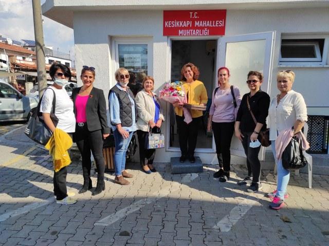 Türk Kadınlar Birliğinden Kadın Muhtar Taşar'a Ziyaret1_640x479